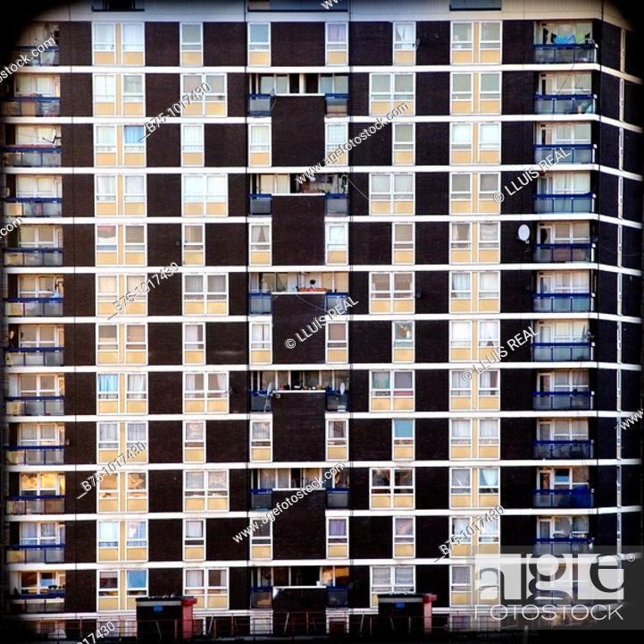 Stock Photo: Condominium.