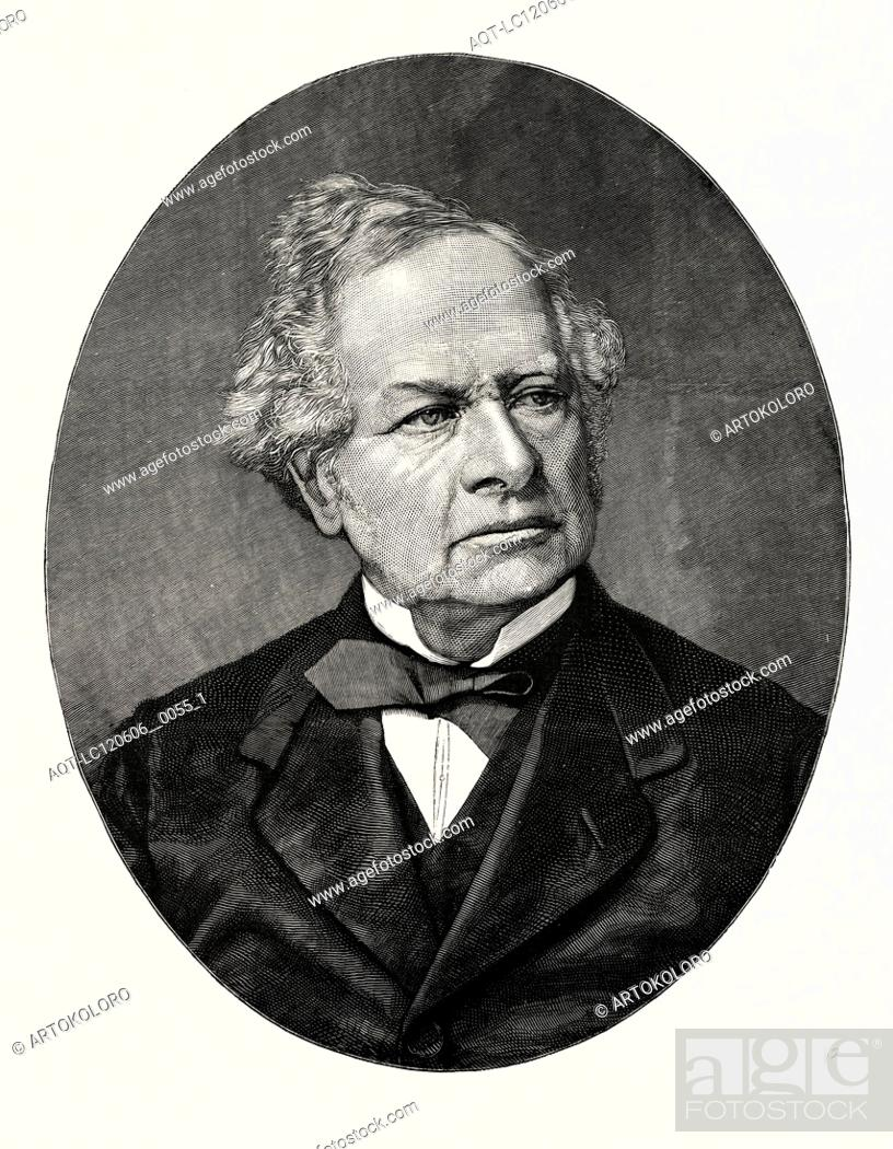 Stock Photo: THE LATE EARL GRANVILLE. BORN MAY 11, 1815; DIED MARCH 31, 1891.