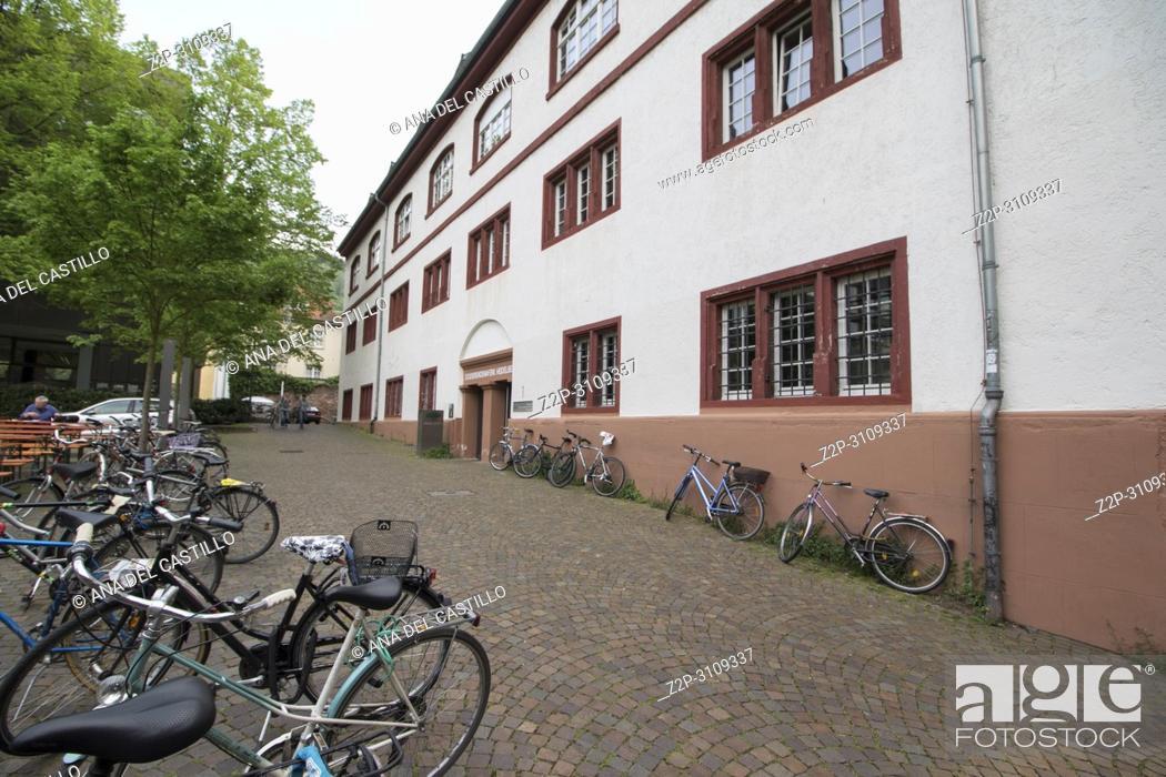 Stock Photo: Cityscape in Heidelberg Germany on December 2016.