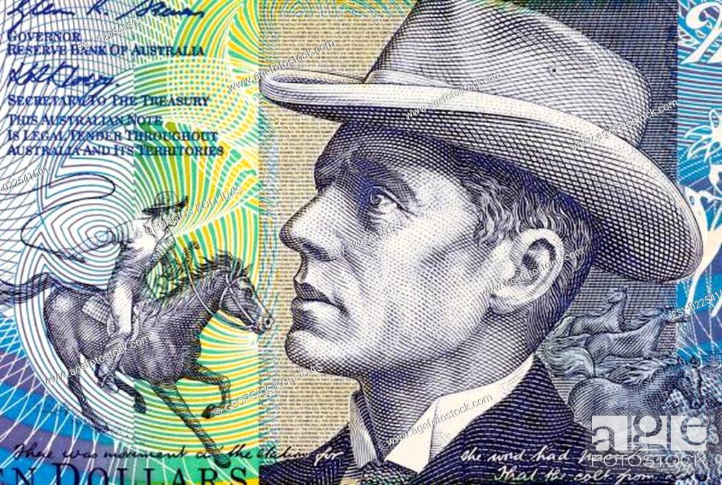 Stock Photo: Banjo Paterson.