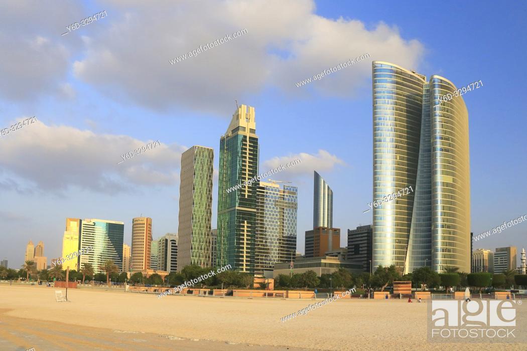 Stock Photo: Abu Dhabi, United Arab Emirates.