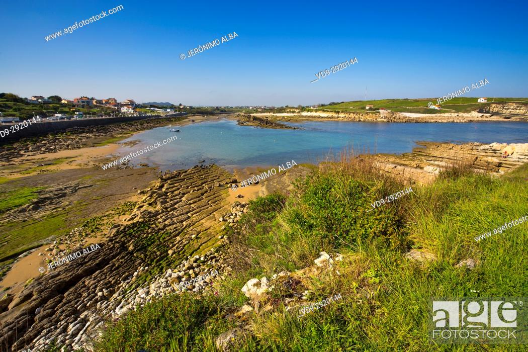 Stock Photo: Ria San Pedro del Mar, La Maruca. Cantabrian Sea. Santander, Cantabria Spain. Europe.