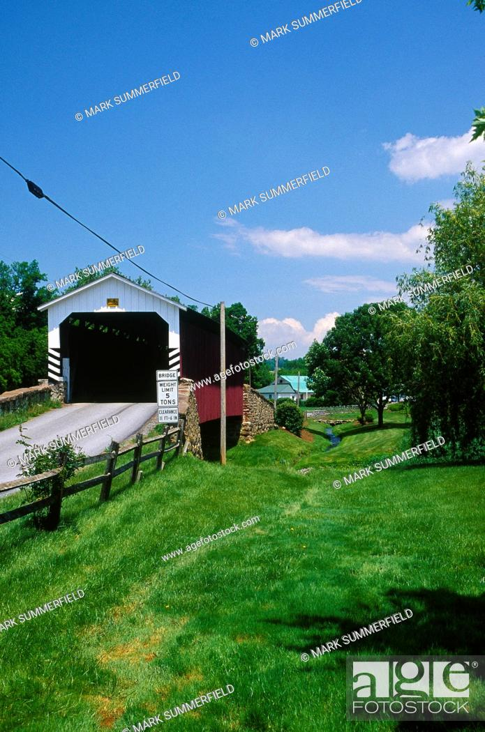 Stock Photo: Near Churchtown. Covered bridge. ARCHIVED, WITHDRAWN.