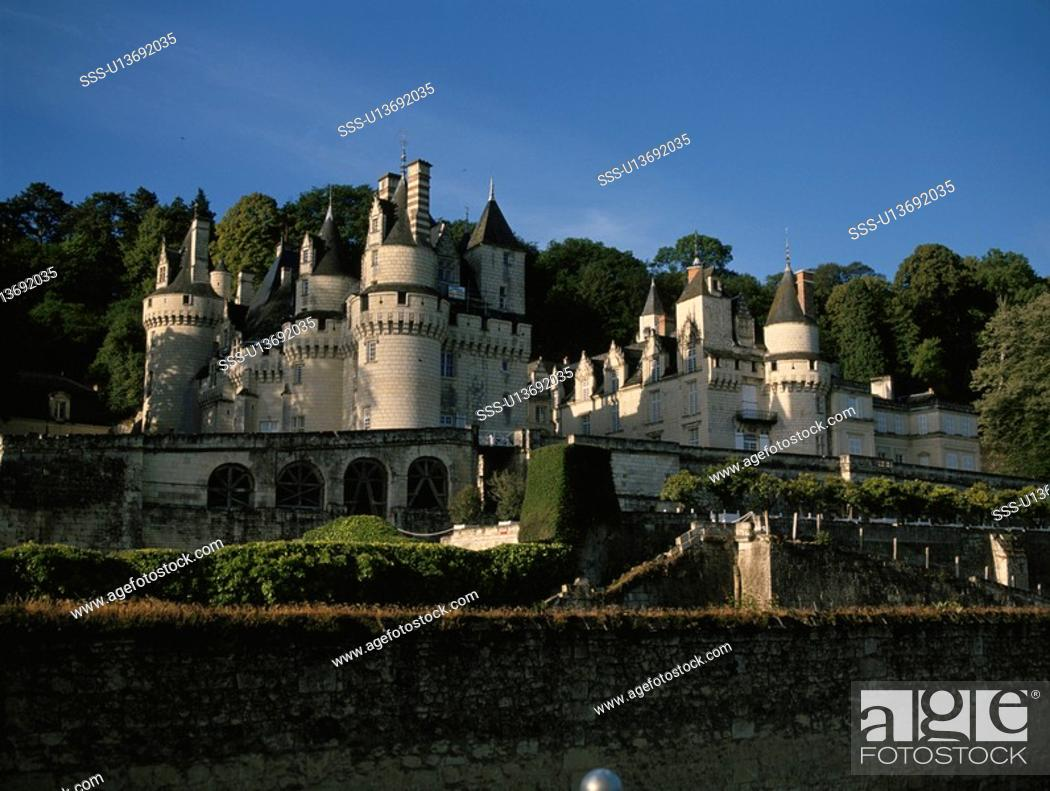 Stock Photo: Castle.