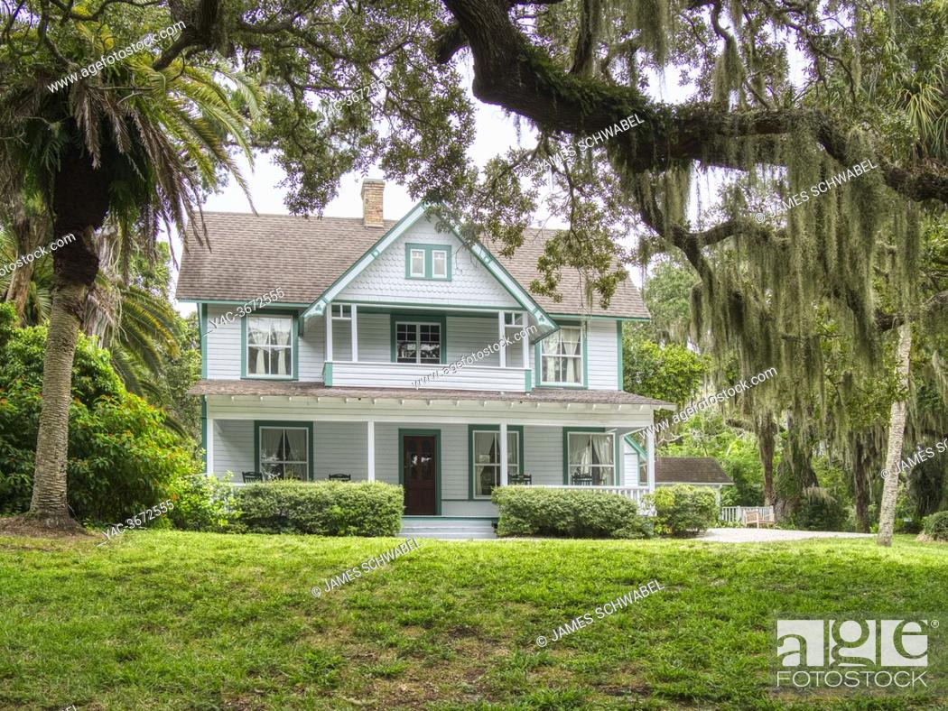 Imagen: Guptill House at Historic Spanish Point in Osprey Florida in the United sTates.