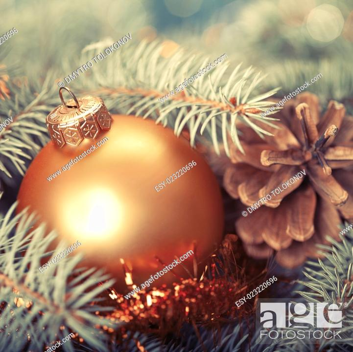 Stock Photo: Abstract Christmas backgrounds with holiday decorations.