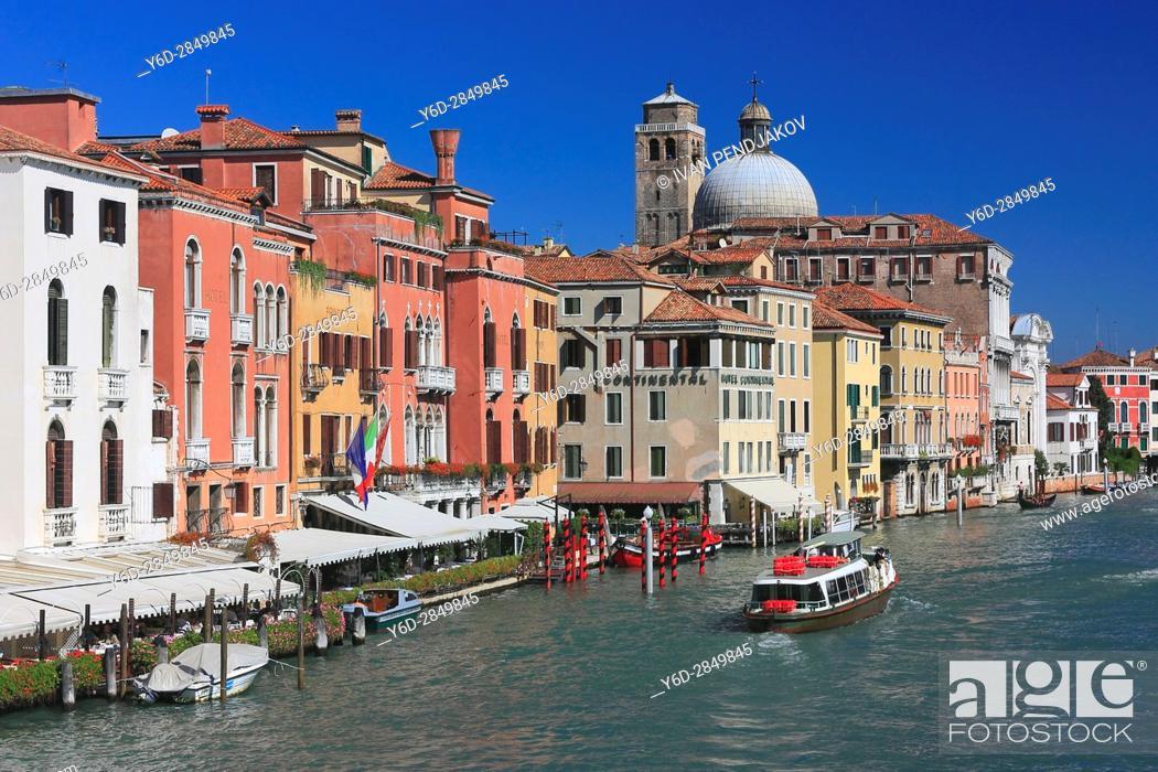 Imagen: Grand Canal, Venice, Italy.