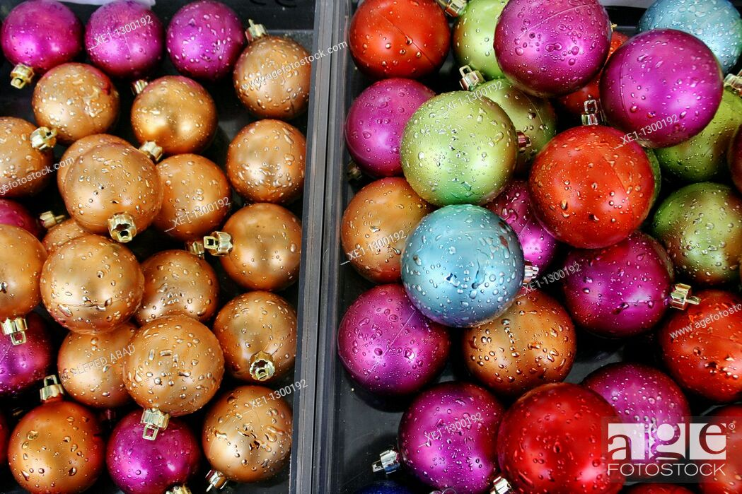 Stock Photo: Christmas decorations.