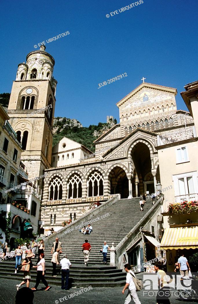 Stock Photo: Amalfi Cathedral, Duomo Di Sant Andrea.