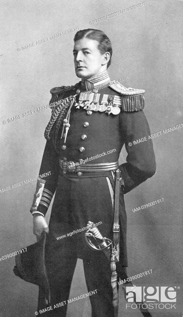 Stock Photo: David Beatty, 1st Earl Beatty 1871-1936 British naval commander, World War I, Battle of Jutland, 31 May 1916, Commander-in-chief Grand Fleet 1916.