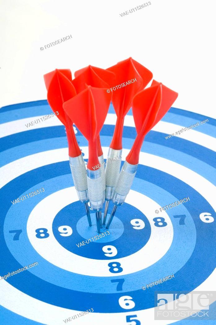 Imagen: board, aim, background, arrow, archery, bullseye, accurate.