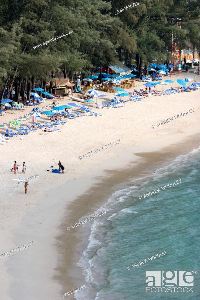 Stock Photo: Popular holiday spot Kamala Beach Phuket Thailand.