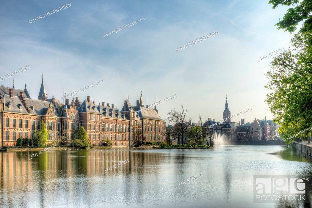 Stock Photo: Binnenhof, The Hague, Netherlands.