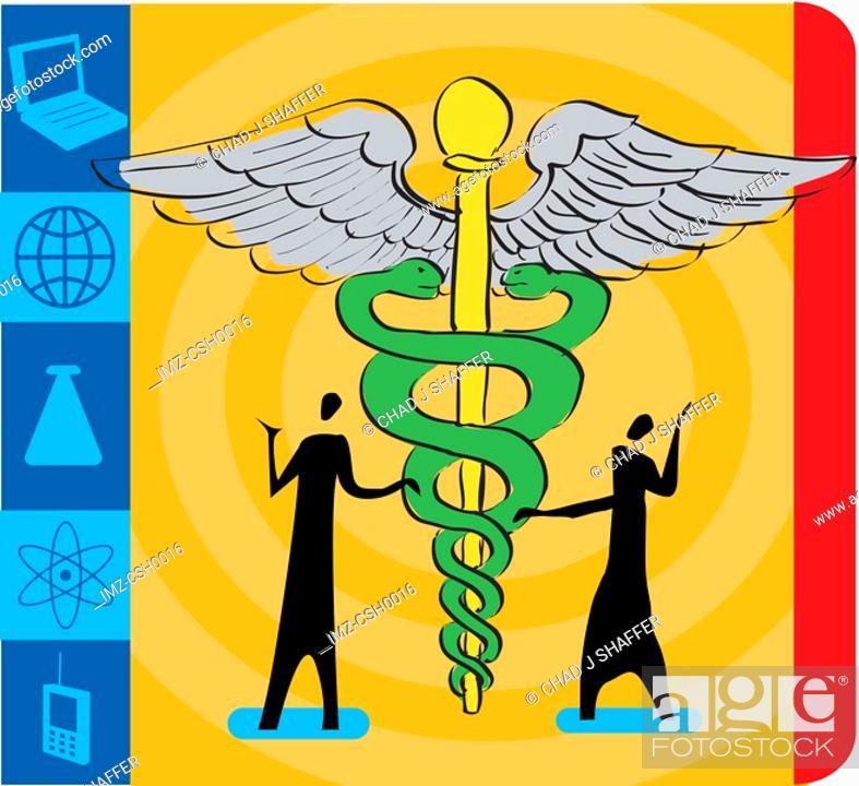 Stock Photo: medical society.