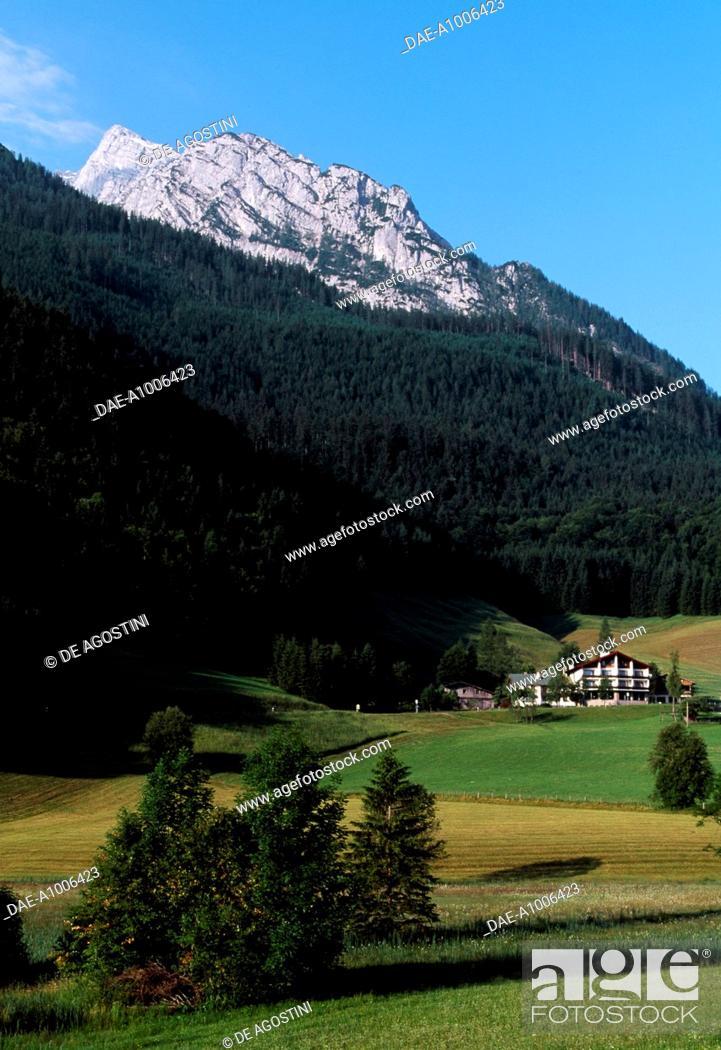 Stock Photo: Reiter Alpe (2284 meters), Berchtesgaden National Park (Nationalpark Berchtesgaden), Bavaria, Germany.