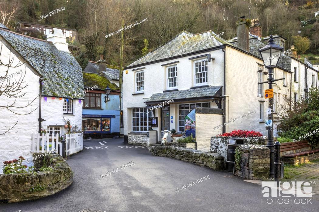 Stock Photo: Polperro, Cornwall, United Kingdom.