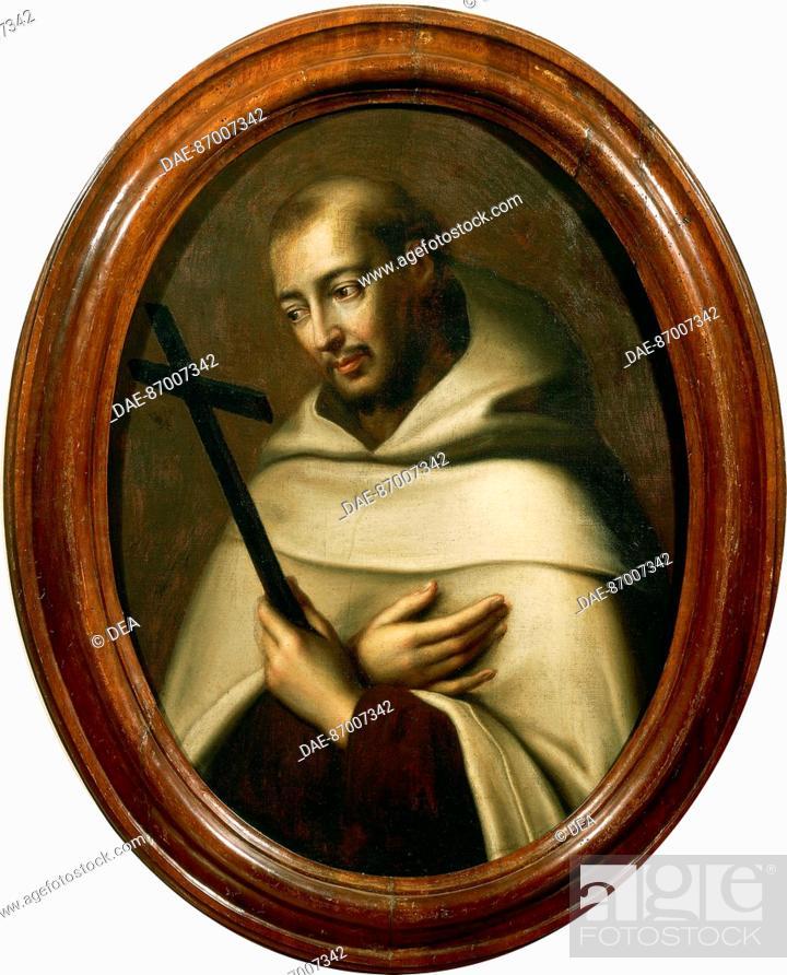 Portrait of St John of the Cross (Fontiveros, 1542-Ubeda, 1591