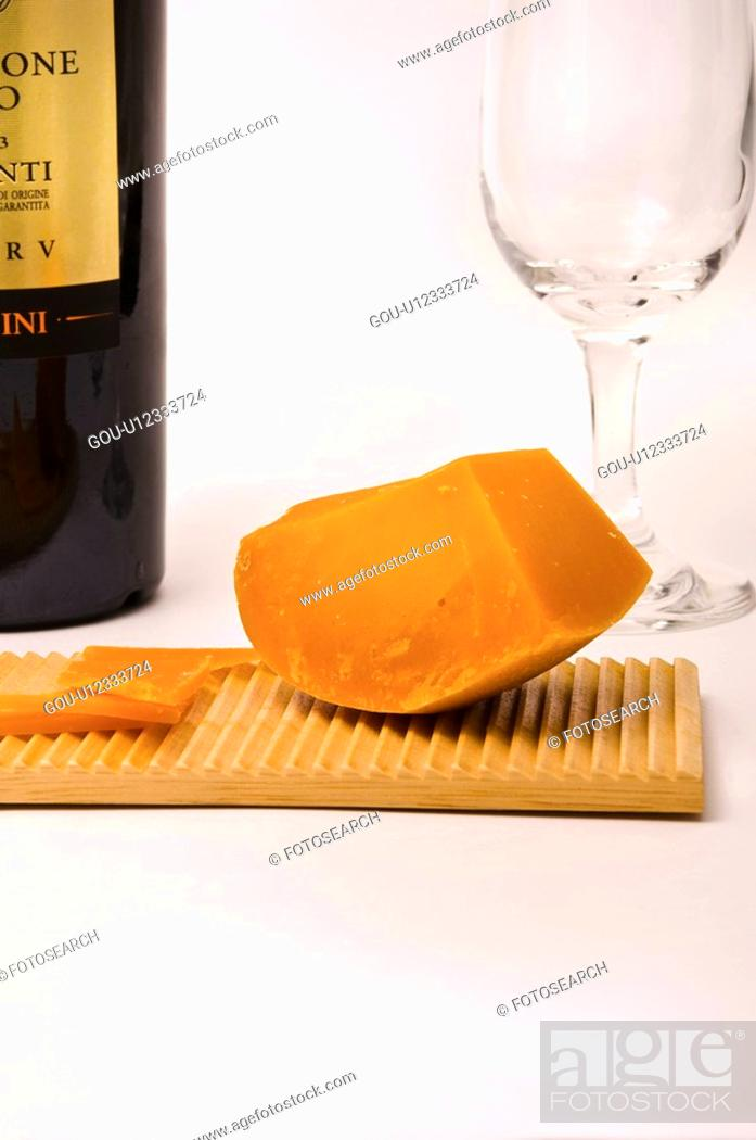 Stock Photo: Cheese.