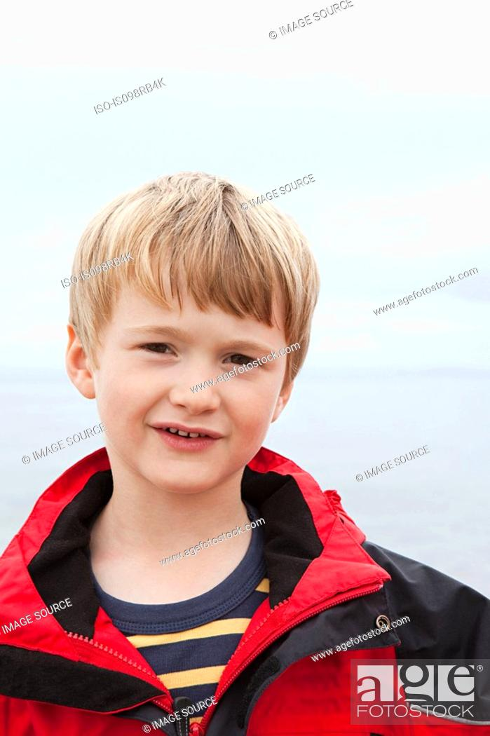 Stock Photo: Boy outdoors.