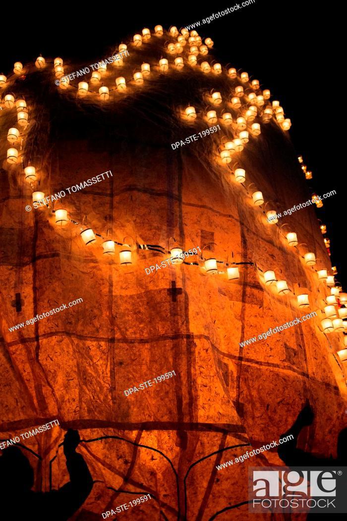 Imagen: hot air balloon festival, taunggyi, myanmar, burma.