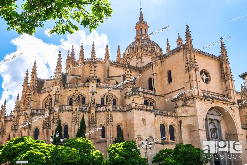 Imagen: Cathedral of Segovia or called correctly in Spanish ''Saint Iglesia Catedral of Our Lady of the Asunción and of San Frutos''.