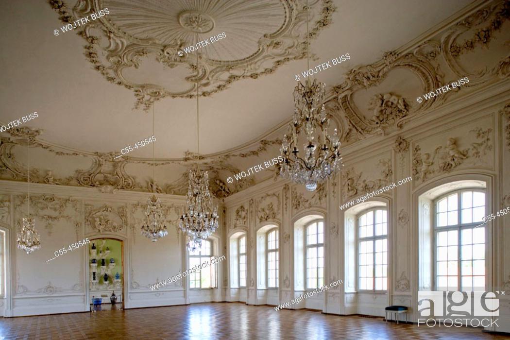 Stock Photo: Rundale palace built in 18th century by Francesco Bartolomeo Rastrelli. Zemgale, Latvia.