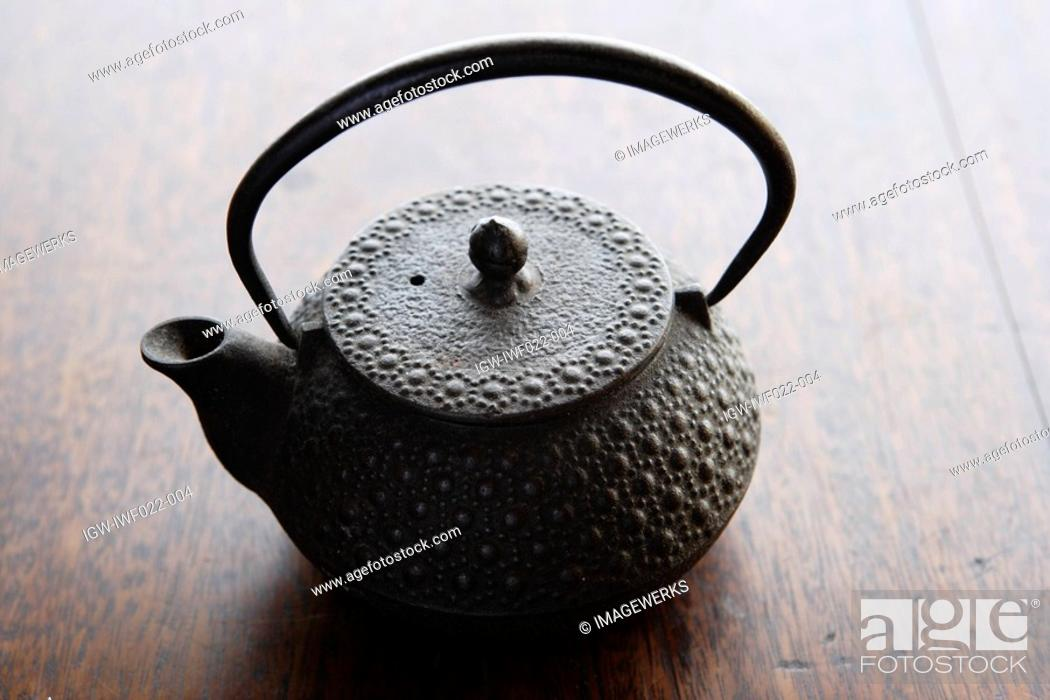 Stock Photo: Close-up of a teapot.