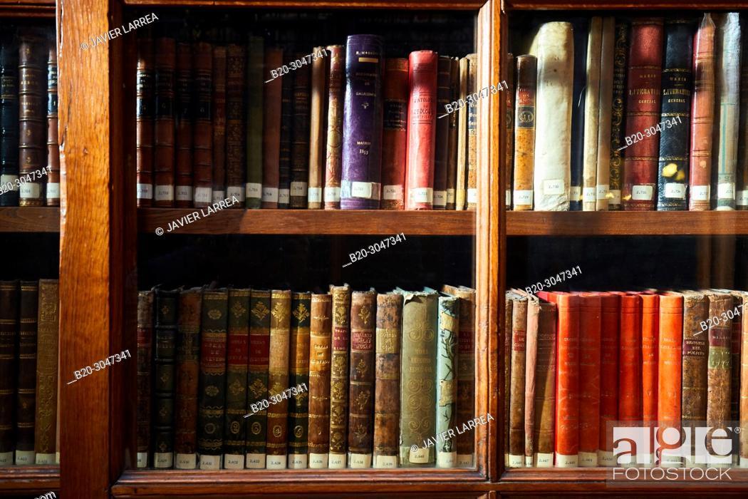 Stock Photo: Biblioteca Menendez Pelayo (Menendez Pelayo Library), Santander, Cantabria, Spain, Europe.