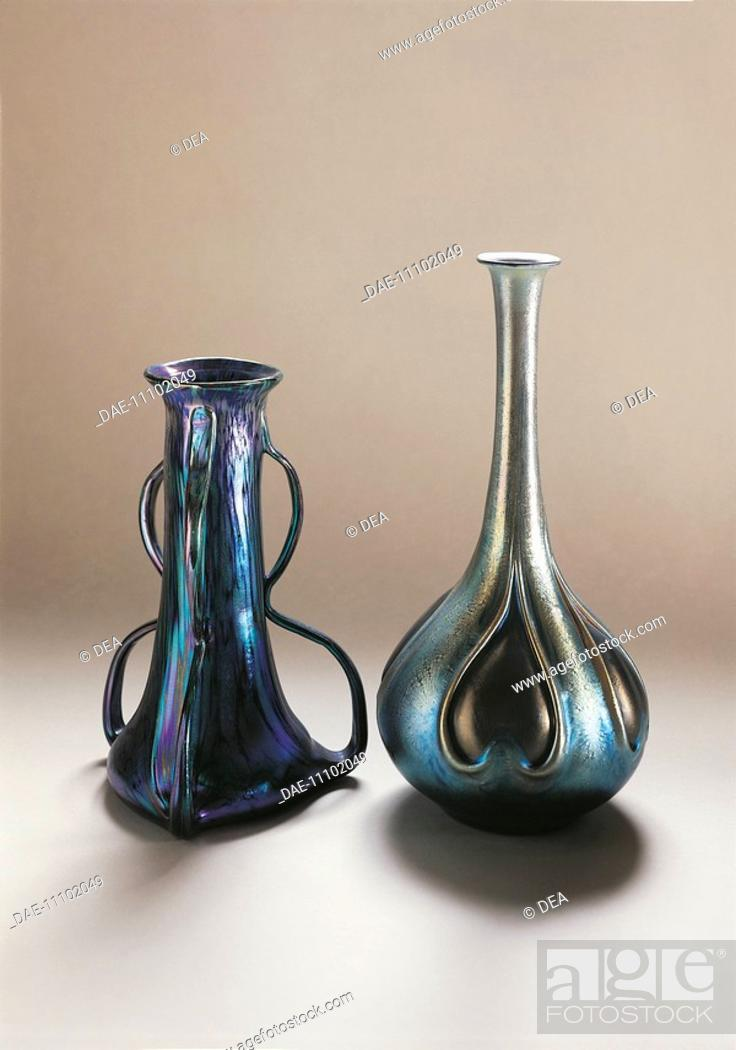 Glassware Austria 20th Century Johann Loetz Witwes Luster