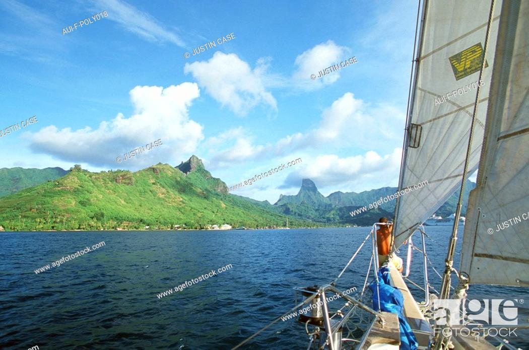 Stock Photo: French Polynesia - Moorea.