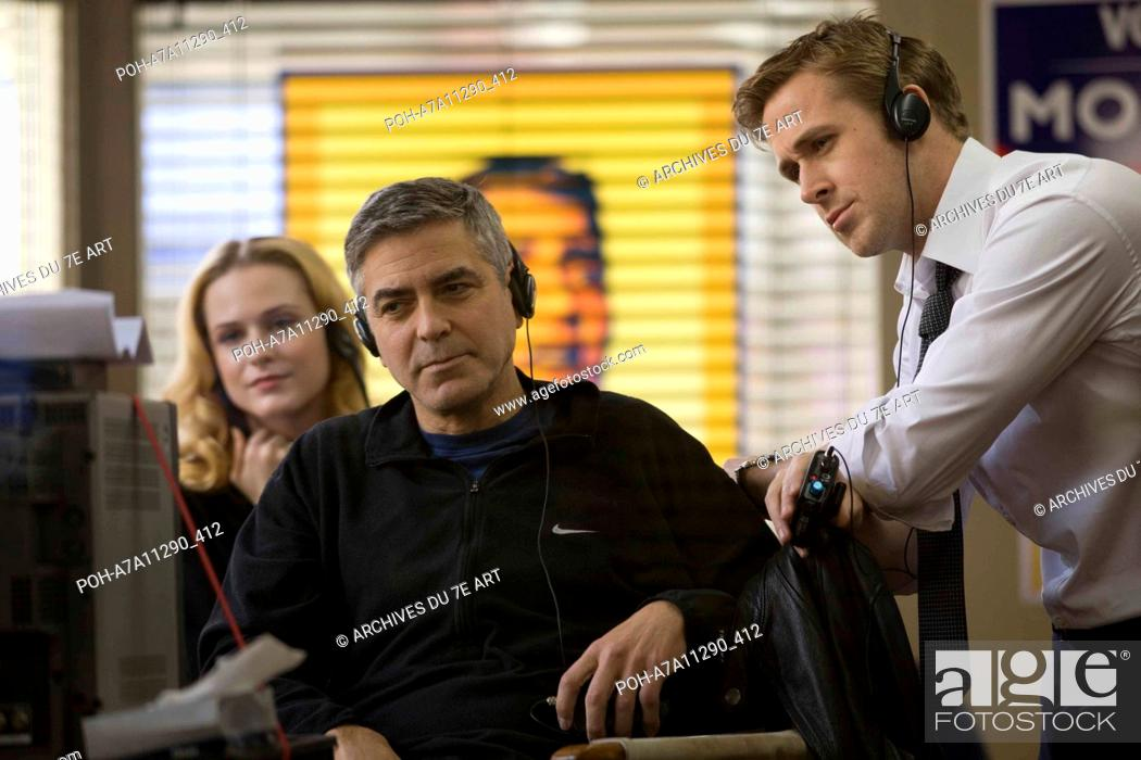 Stock Photo: The Ides of March  Year : 2011 USA Director : George Clooney George Clooney, Ryan Gosling,  Shooting picture Photo: Saeed Adyani.