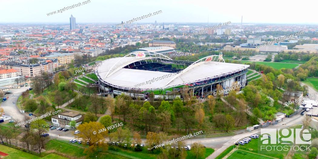View Of The Red Bull Arena During The German Bundesliga Soccer Match Between Rb Leipzig And Bayer 04 Stock Photo Picture And Rights Managed Image Pic Pah 89708557 Agefotostock