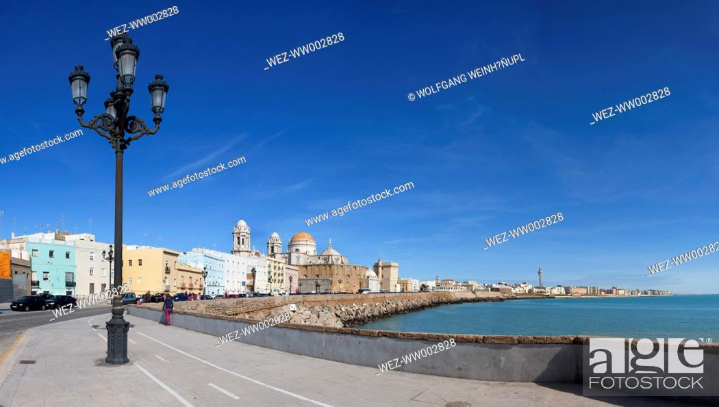 Stock Photo: Spain, View of cathedral.