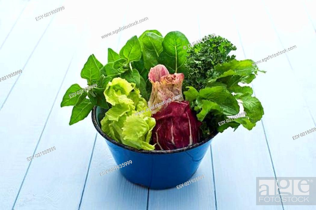 Stock Photo: Salad.