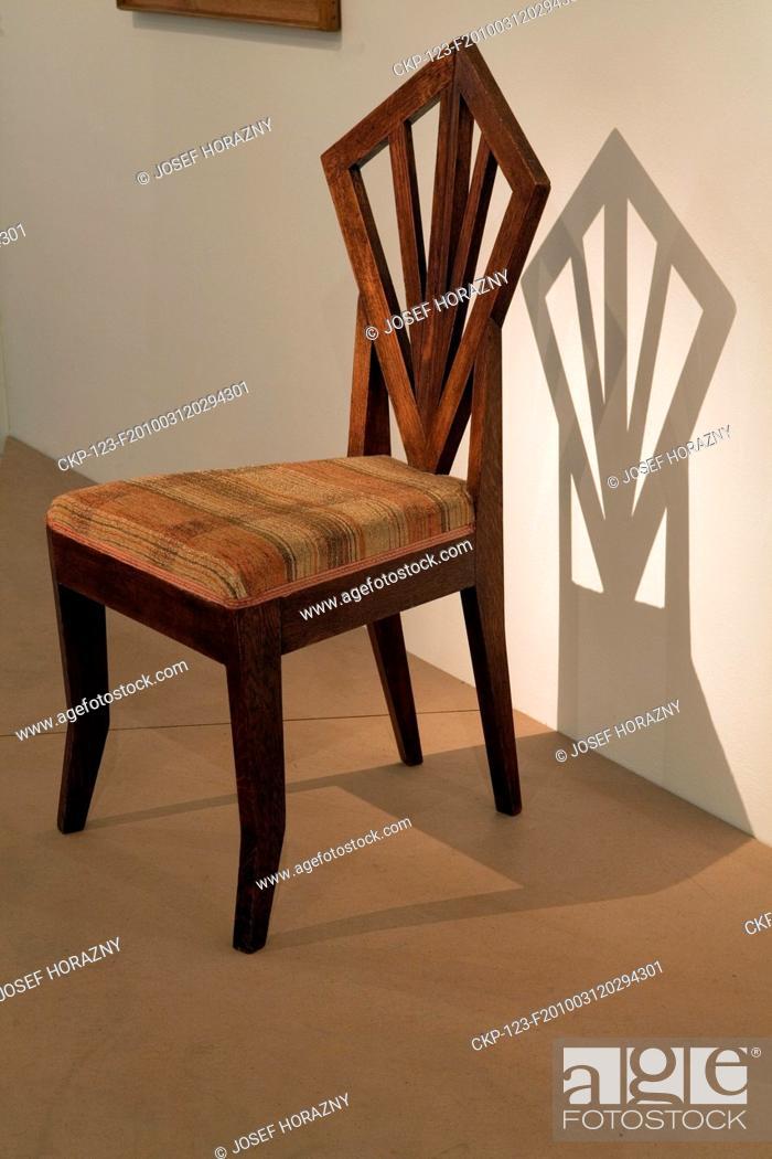 cubism furniture. Cubism Furniture. Stock Photo - Cubist Chair By Josef Gocar In The Museum Of Furniture O