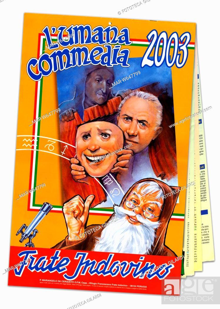 Il Calendario Di Frate Indovino.Calendario Di Frate Indovino L Umana Commedia 2003 Il