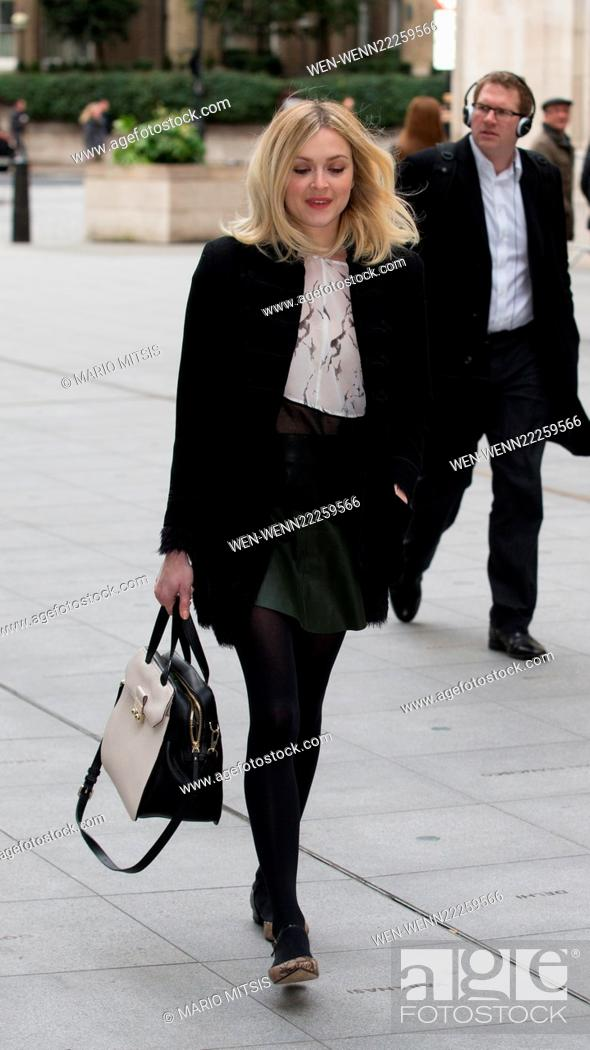 16e5d5e3d3d5de Stock Photo - Fearne Cotton arriving at BBC in Portland Place to host Live  Lounge on Radio 1 Featuring  Fearne Cotton Where  London