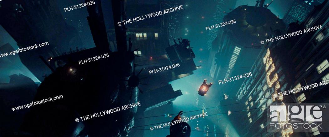 Stock Photo: Blade Runner' 1982 Scene Still'.