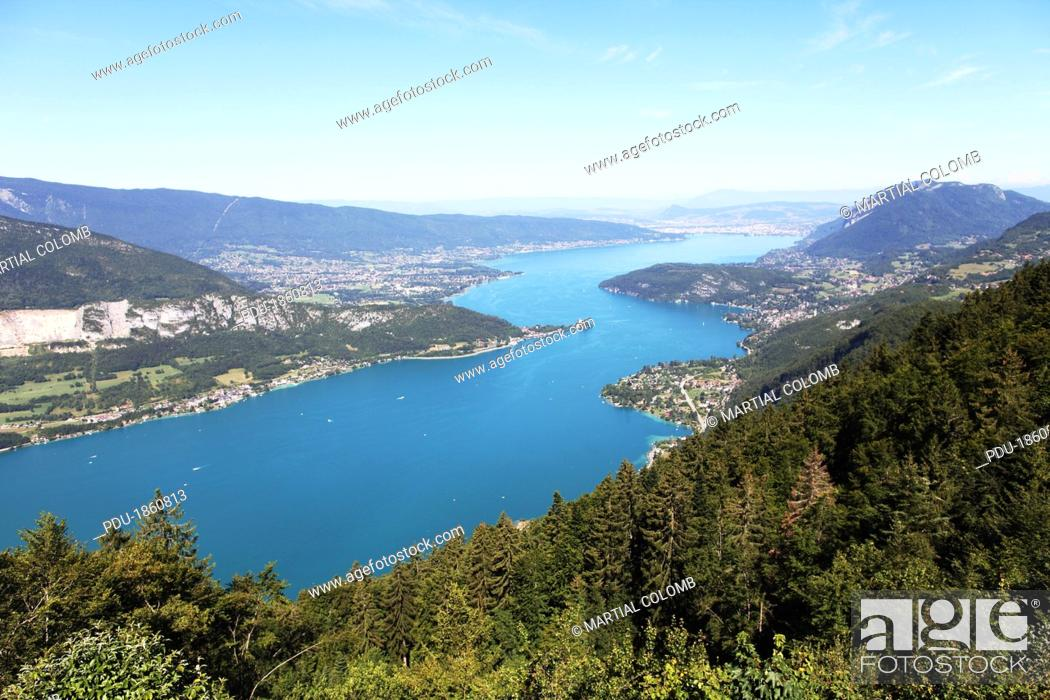 Stock Photo: Annecy lake.