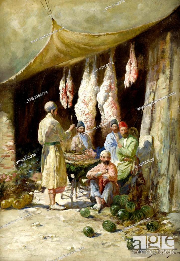 Imagen: Gabashvili Georgy Ivanovich - the Butcher's Stall.