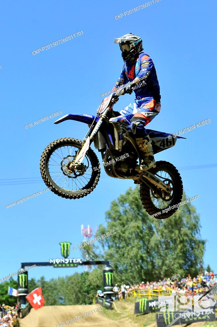 Romain Febvre from France competes during Motocross FIM