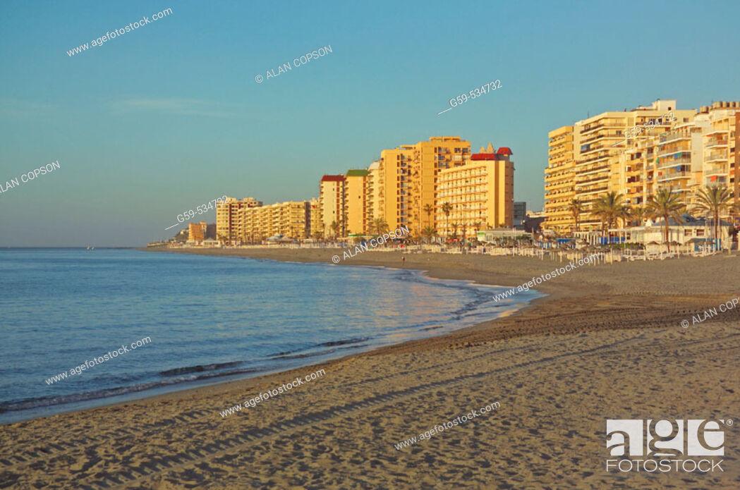 Stock Photo: Fuengirola Beach. Málaga province. Andalucia. Spain.
