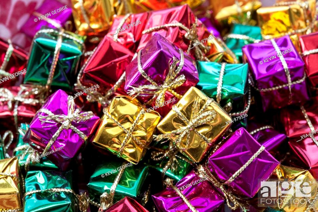 Stock Photo: Christmas Presents.