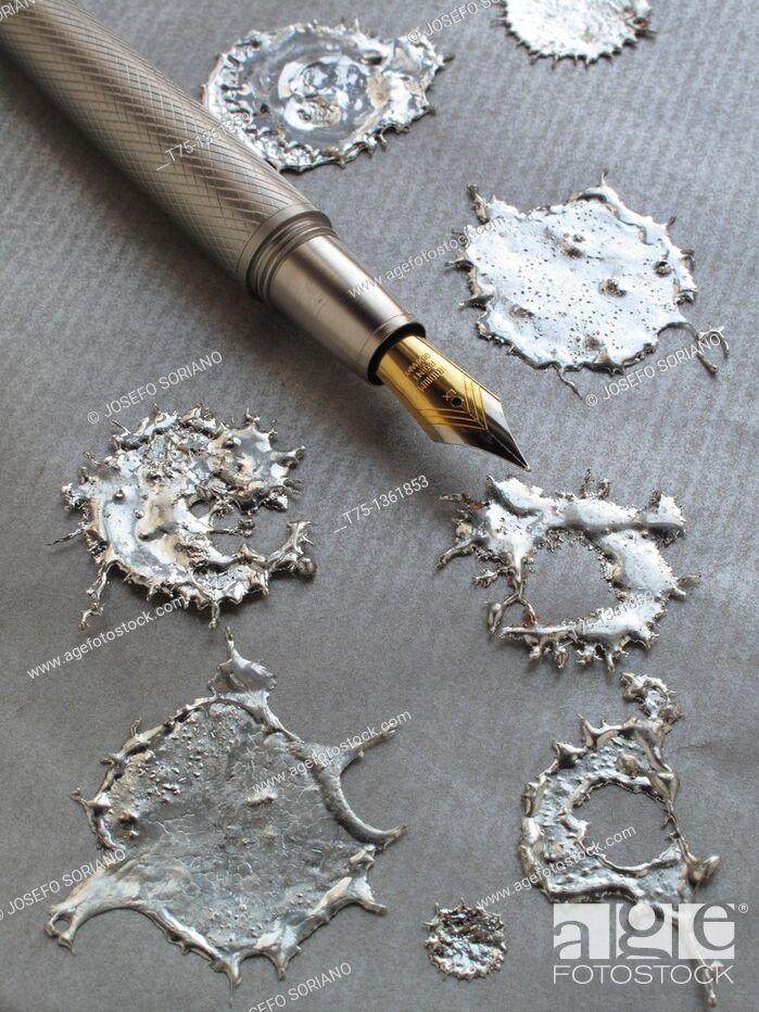 Stock Photo: Iridium Pen.