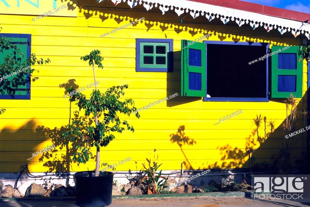 Stock Photo: Caribbean - Saint Martin - Marigot.