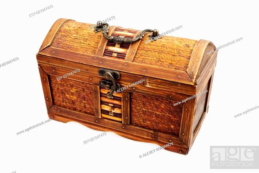 Photo de stock: Piracy chest.