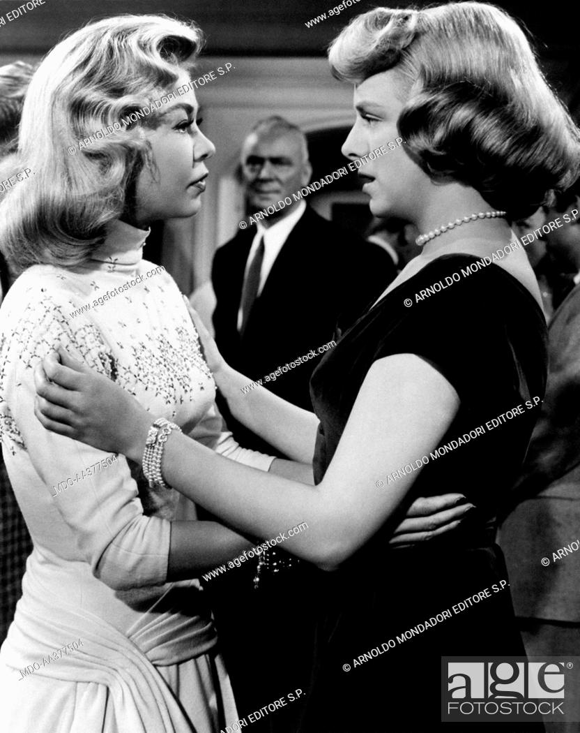 stock photo vera ellen and rosemary clooney in white christmas american actress and - Actresses In White Christmas
