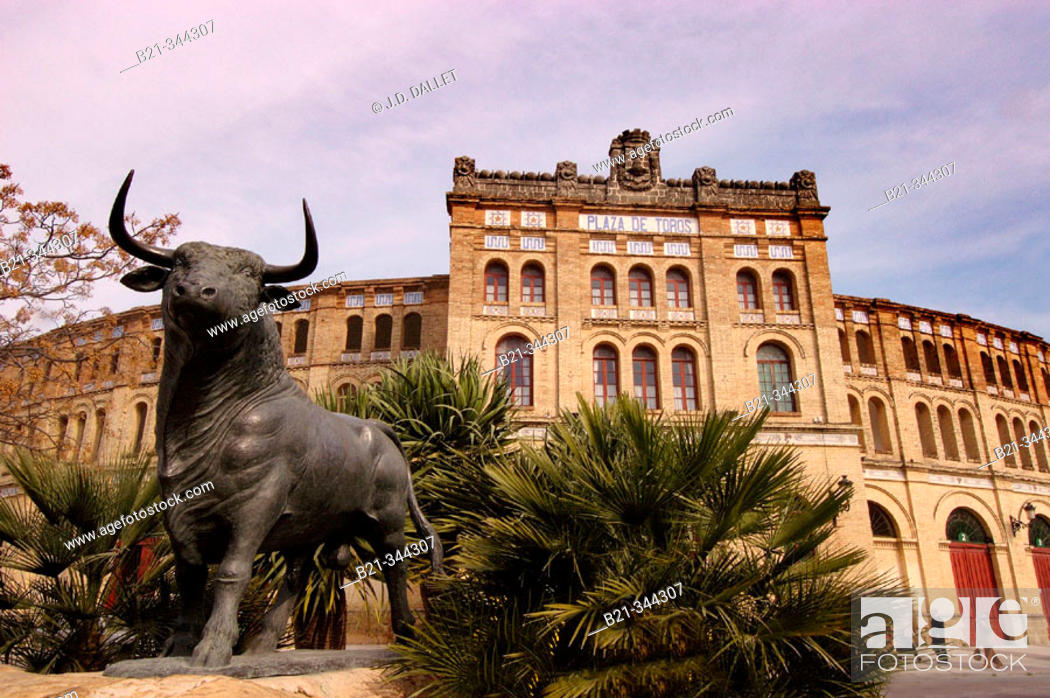 Stock Photo: Bullring of Puerto de Santa María. Cádiz province, Spain.