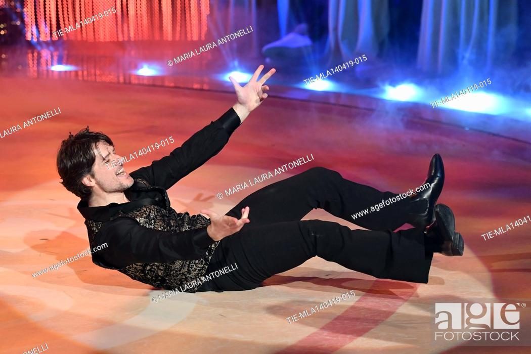 Imagen: Ettore Bassi during the performance at the talent show ' Ballando con le stelle ' (Dancing with the stars) Rome, ITALY-14-04-2019.
