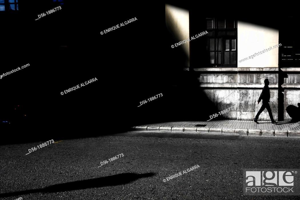 Stock Photo: Pedestrian, Valencia, Spain.